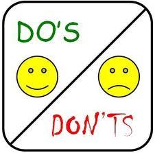 dosdonts