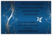 Win a Copy of Proofreading Secrets