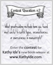 Proofreading Secrets Contest
