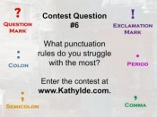 PS Contest: Punctuation Rules