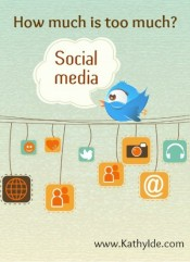 Social Media Book Promotion—How much is too much?