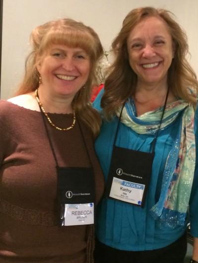 Rebecca Bruner and Kathy Ide