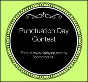 Punctuation Day Contest