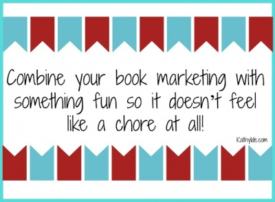 book marketing graphic