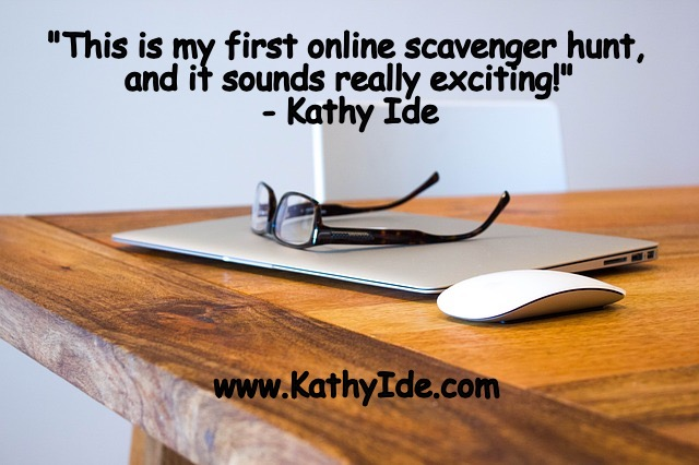 Author Scavenger Hunt – Part 1