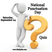 National Punctuation Day Quiz