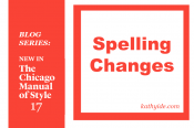 "BLOG SERIES: NEW IN CMOS-17 ""Spelling Changes"""