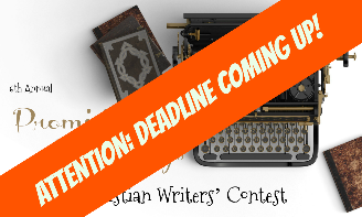 ATTENTION: Deadline for Promising Beginnings Christian Writers' Contest coming up!