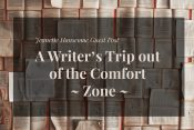 "Guest Post—Jeanette Hanscome ""A Writer's Trip out of the Comfort Zone"""