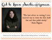 Q&A with Anita Higman