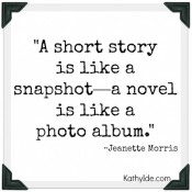 A Short Story Is Like a Snapshot