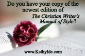 The New Christian Writer's Manual of Style