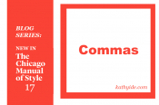 "BLOG SERIES: NEW IN CMOS-17 ""Commas"""
